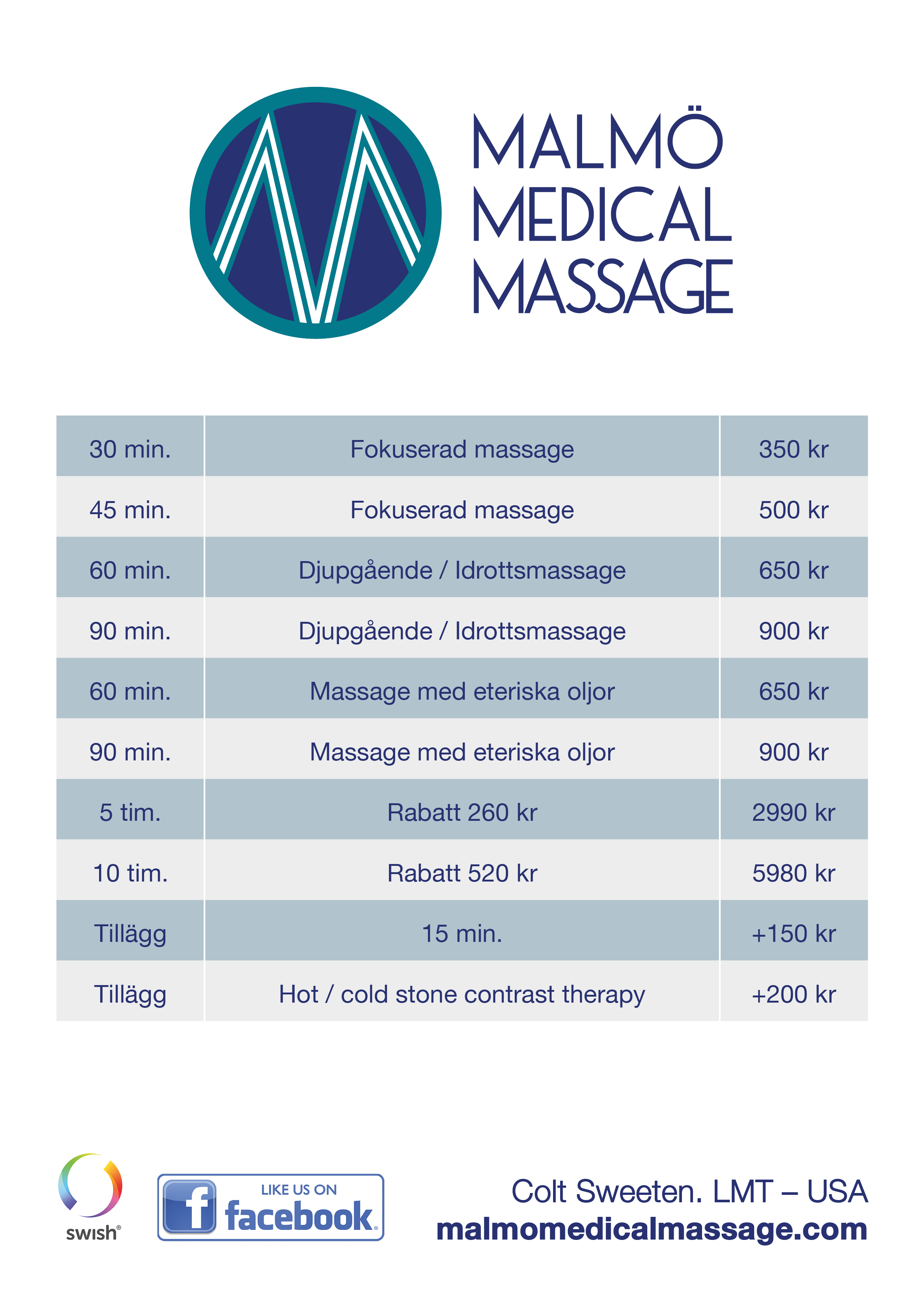 aree thai massage helkroppsmassage malmö